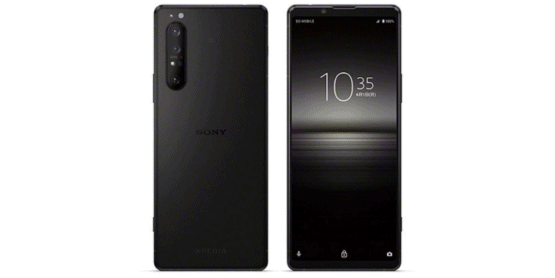 Sony Xperia 1 II Frosted Black Color