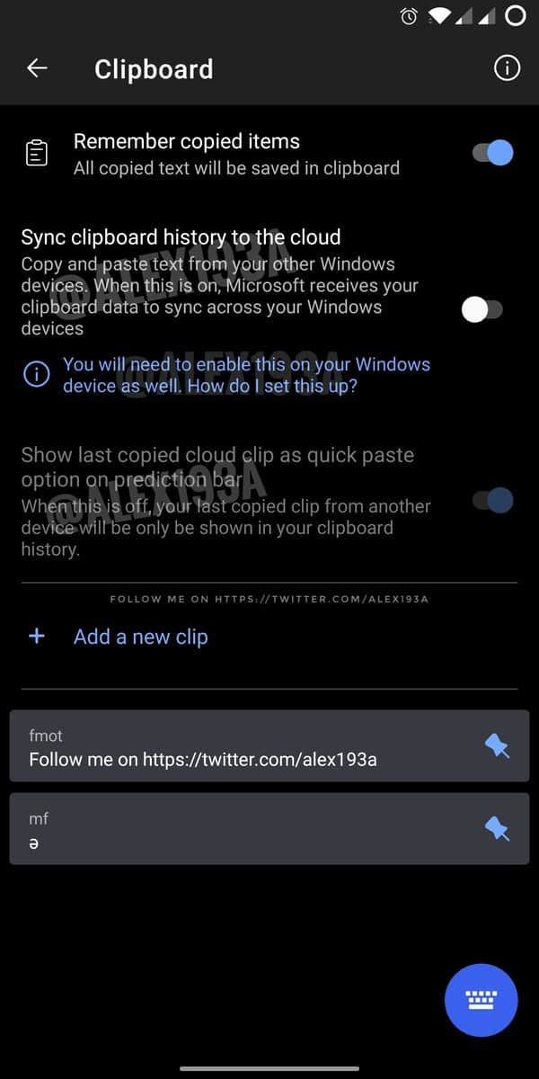 Swiftkey Beta App Sync Clipboard