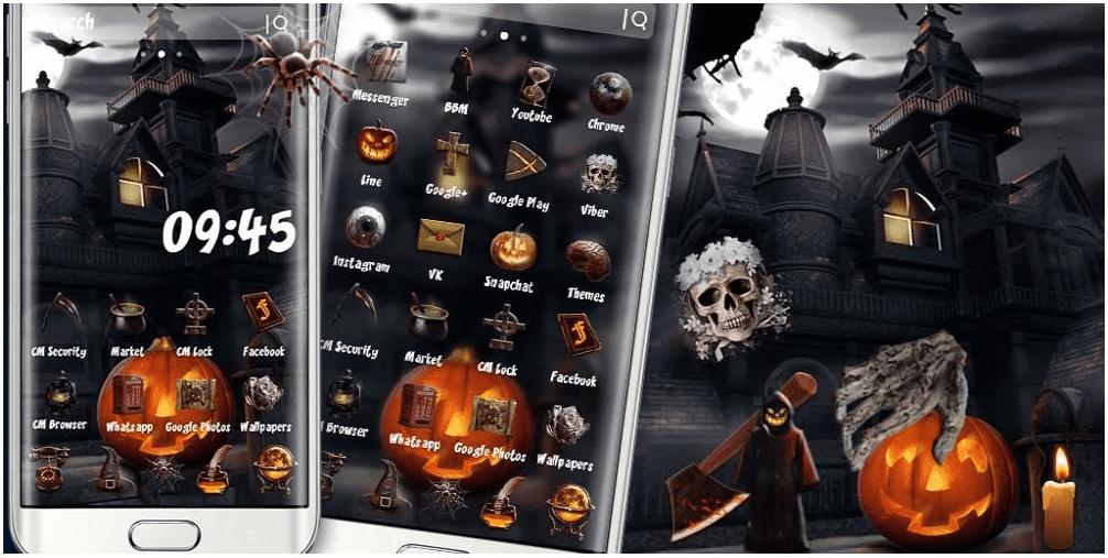 Terror Halloween Theme