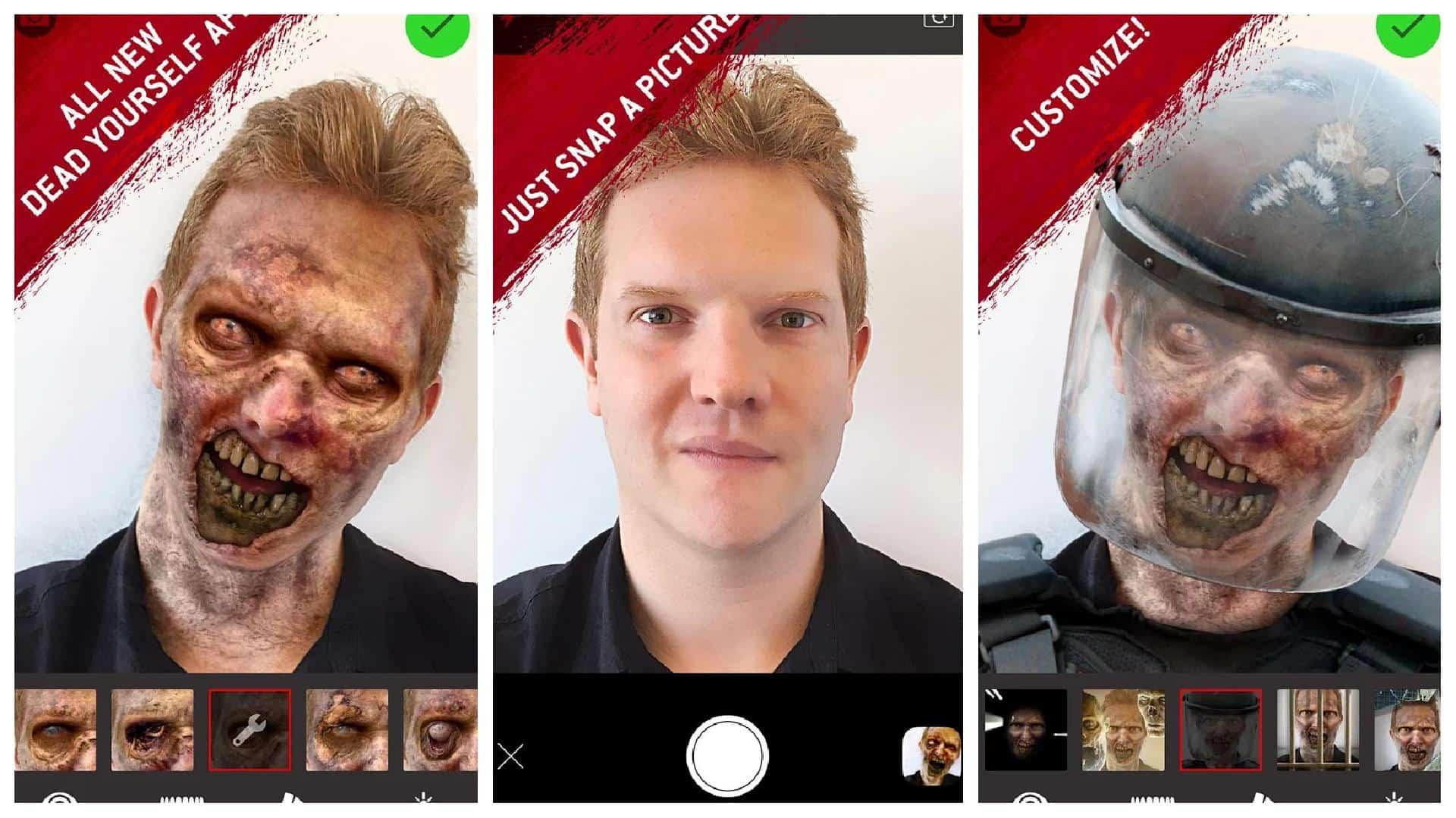 The Walking Dead Dead Yourself app grid image