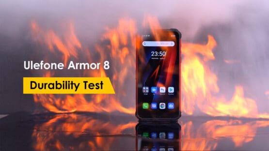 Ulefone Armor 8 durability test