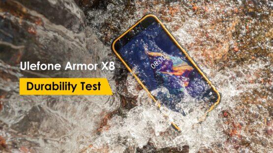 Ulefone Armor X8 durability test