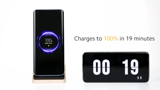 Xiaomi 80W fast wireless charging 1