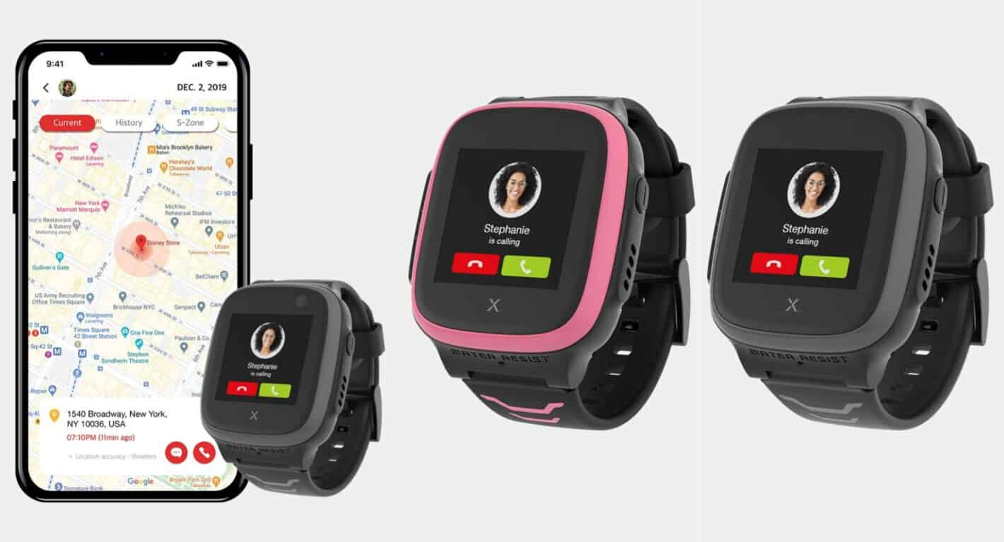 Xplora X5 Play smartwatch pressers from official web store