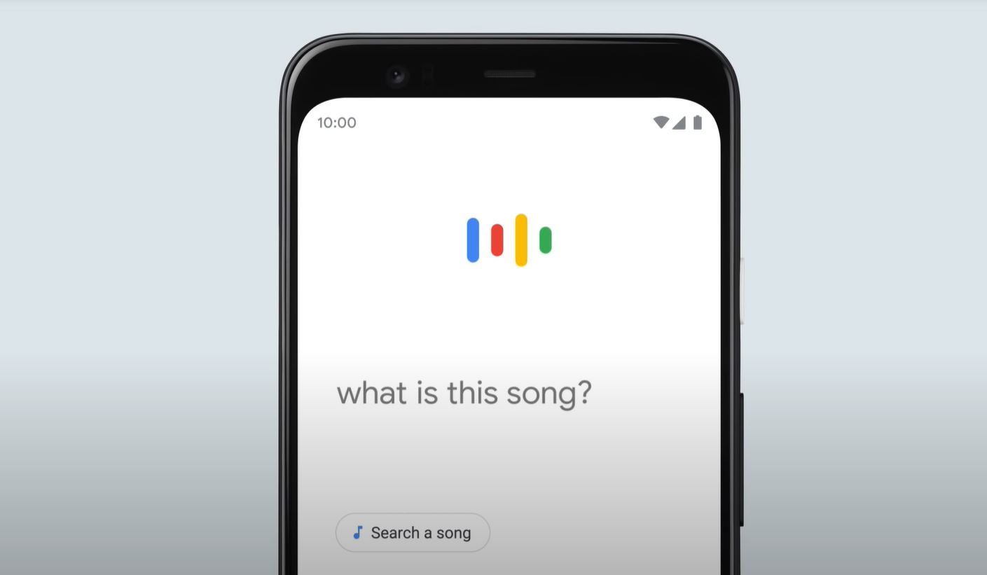 google search for a song
