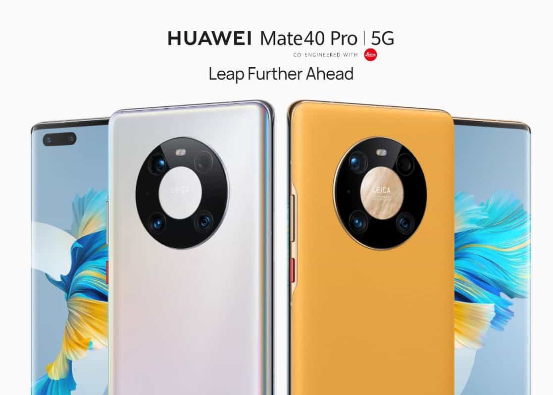 Download The Huawei Mate 40 Pro Stock Wallpapers