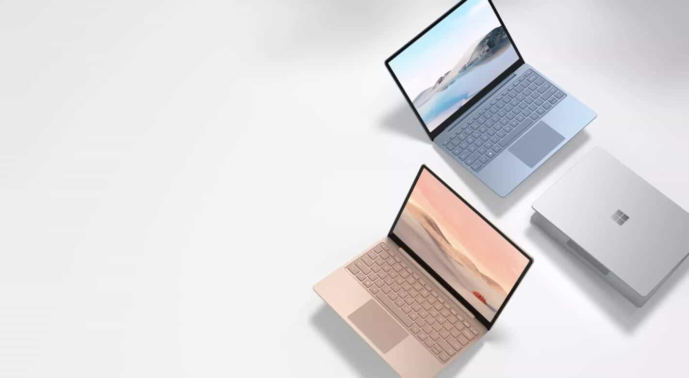 microsoft surface laptop go presser