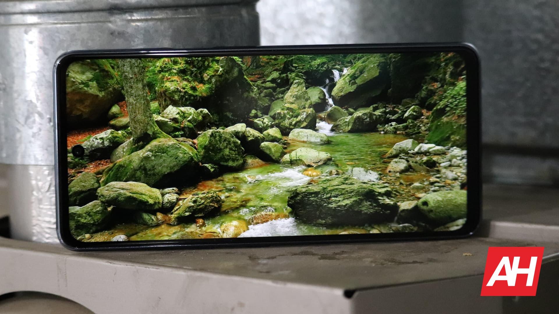 02 LG K92 5G Review Display DG AH 2020