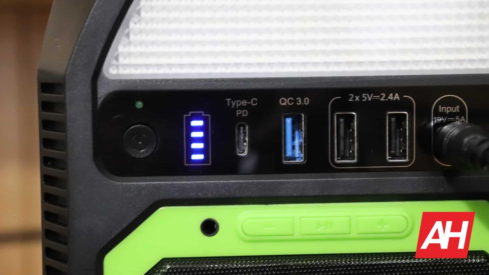03 iForway PS500N Portable Powerstation battery DG AH 2020