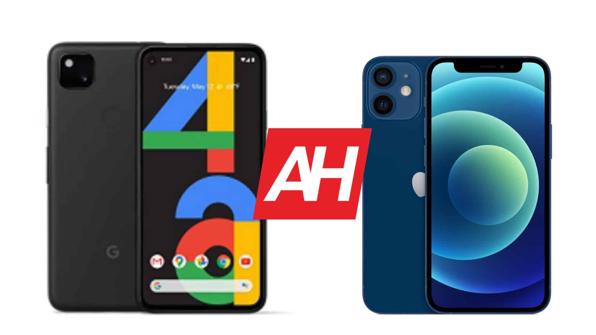 Phone Comparisons Google Pixel 4a Vs Apple Iphone 12 Mini