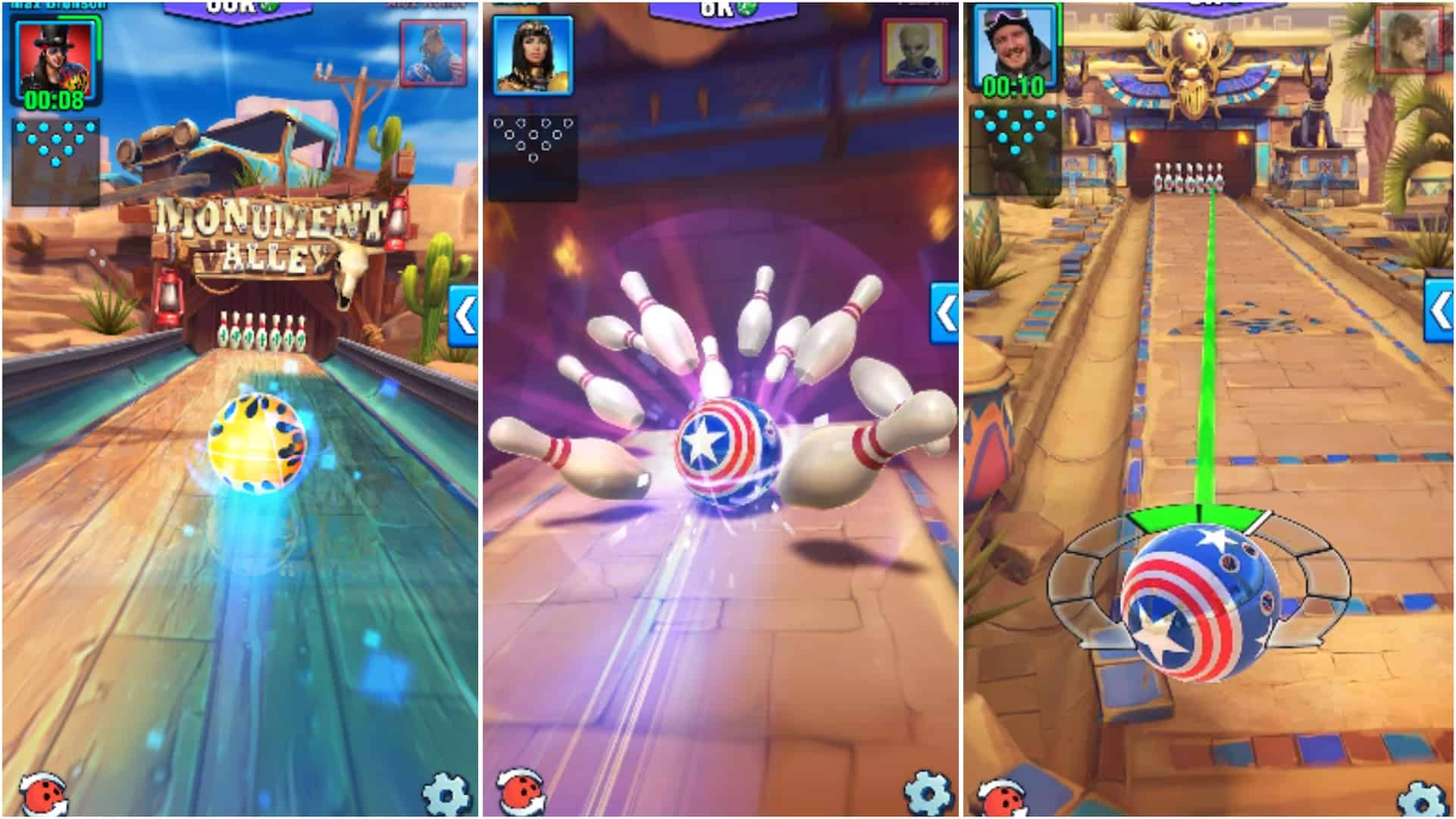 Bowling Crew app grid image