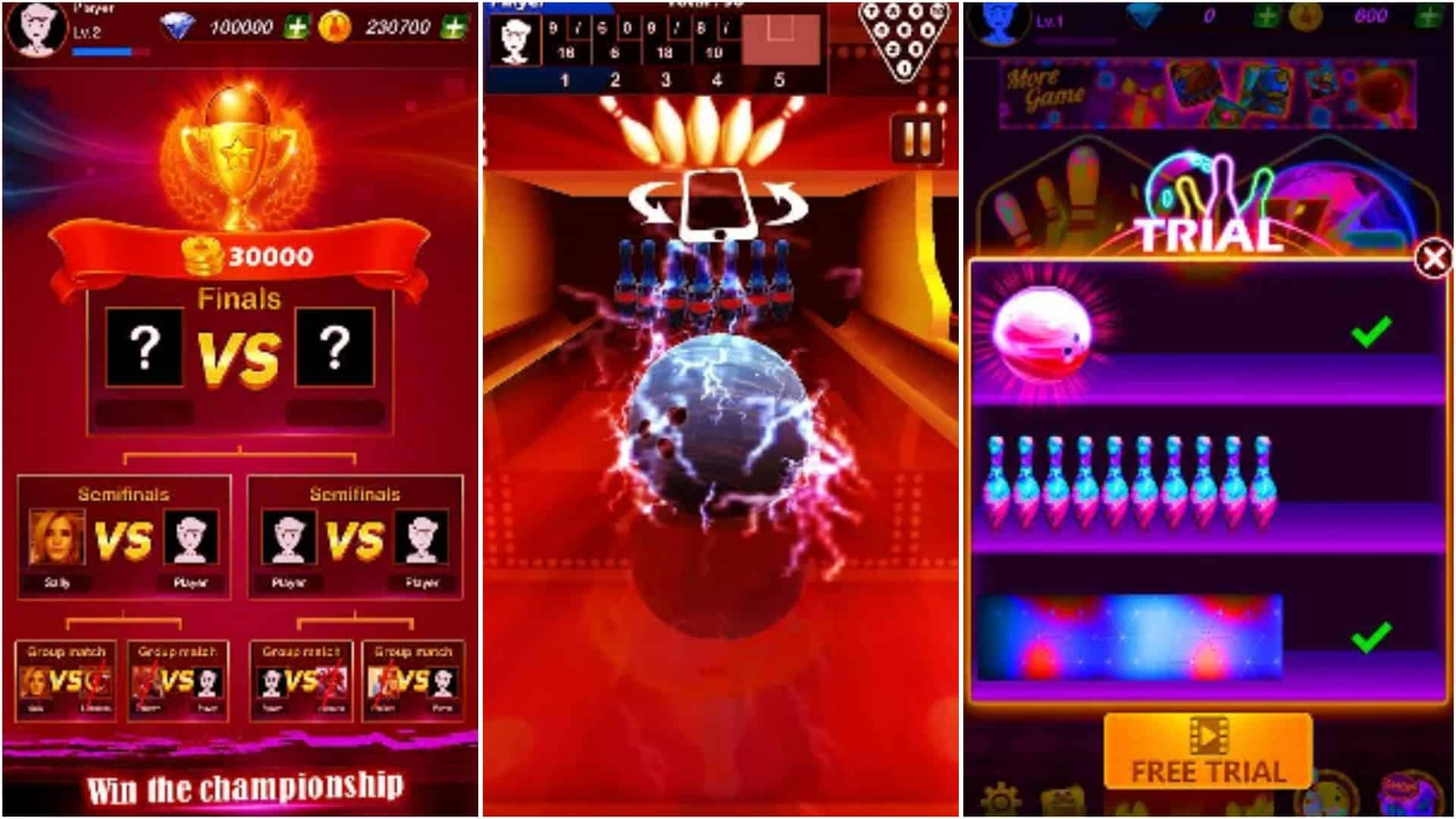 Bowling Star Mater app grid image