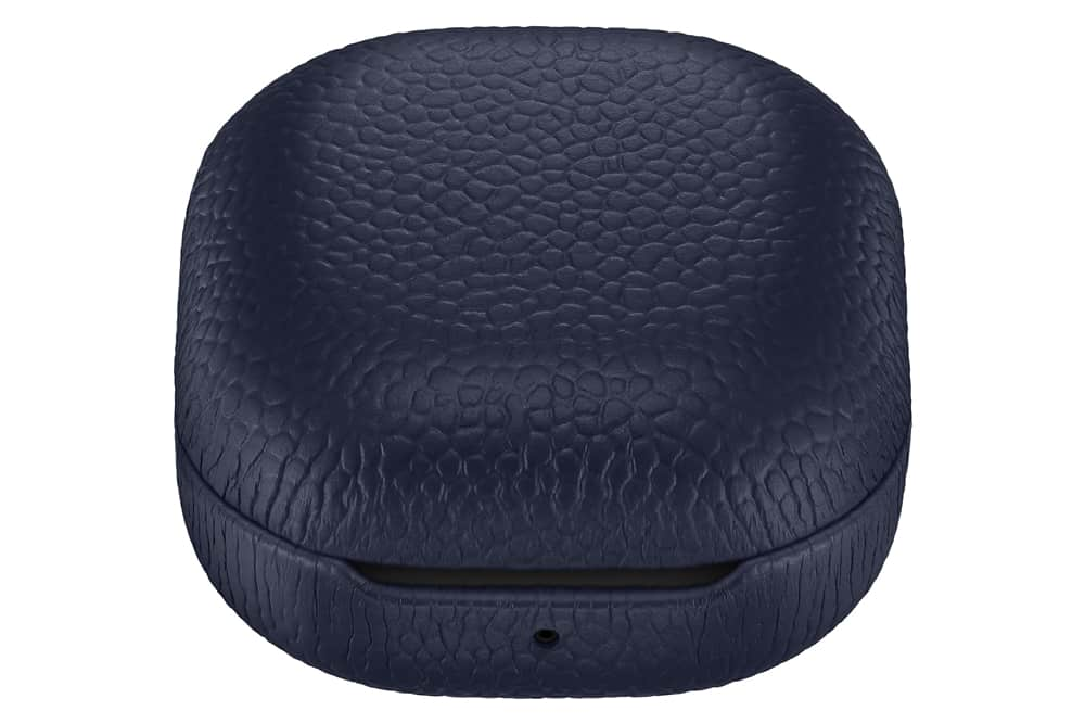 Galaxy Buds Live Leather Cover Navy 1