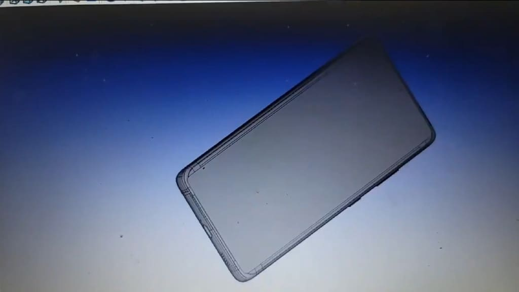 Galaxy S21 Ultra CAD render 3