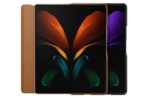 Galaxy Z Fold 2 Leather Flip Cover
