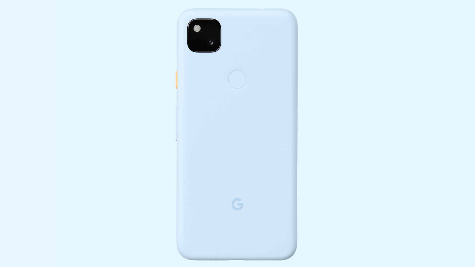 Google Pixel 4a Barely Blue Featured Store0