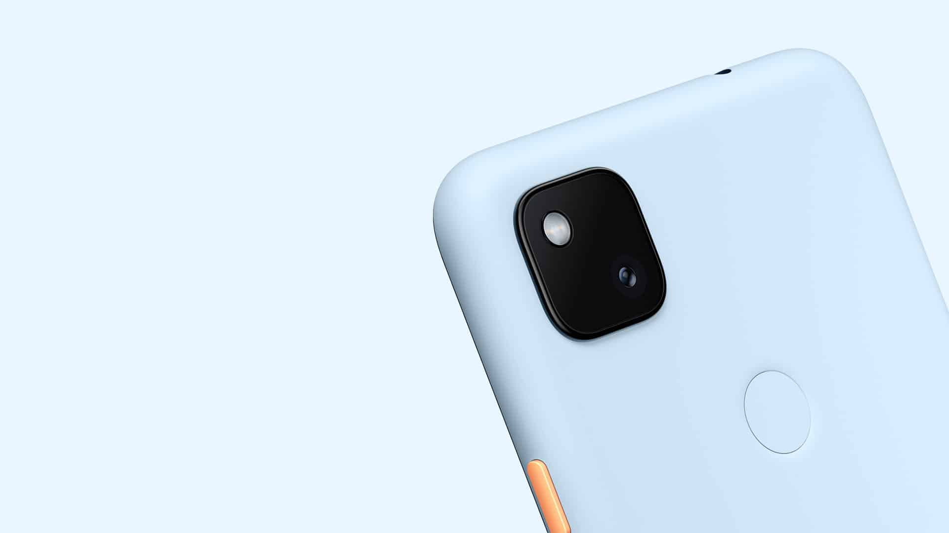 Google Pixel 4a Barely Blue Featured Store3