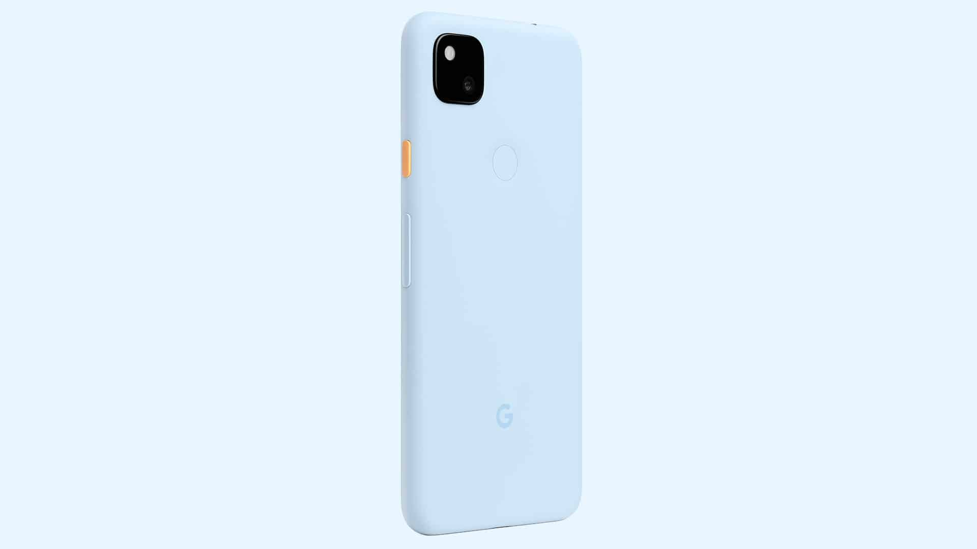 Google Pixel 4a Barely Blue Featured Store6