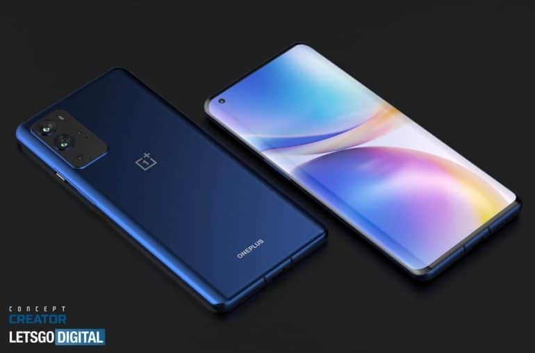 OnePlus 9 Pro concept based on leaked renders 1