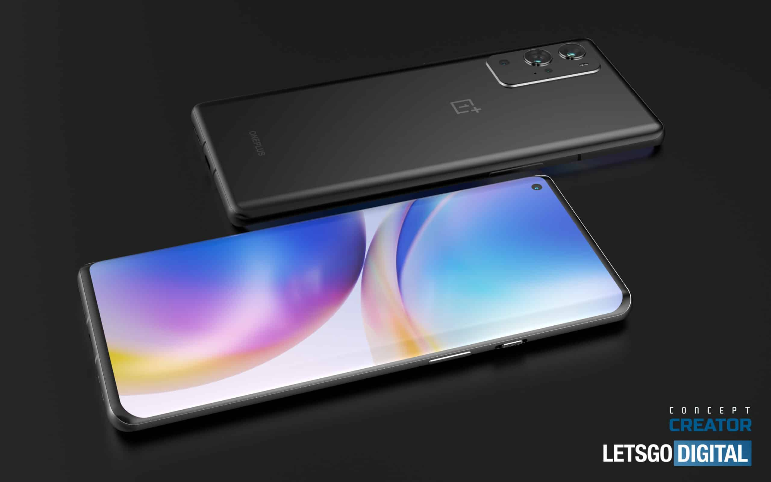OnePlus 9 Pro concept based on leaked renders 2