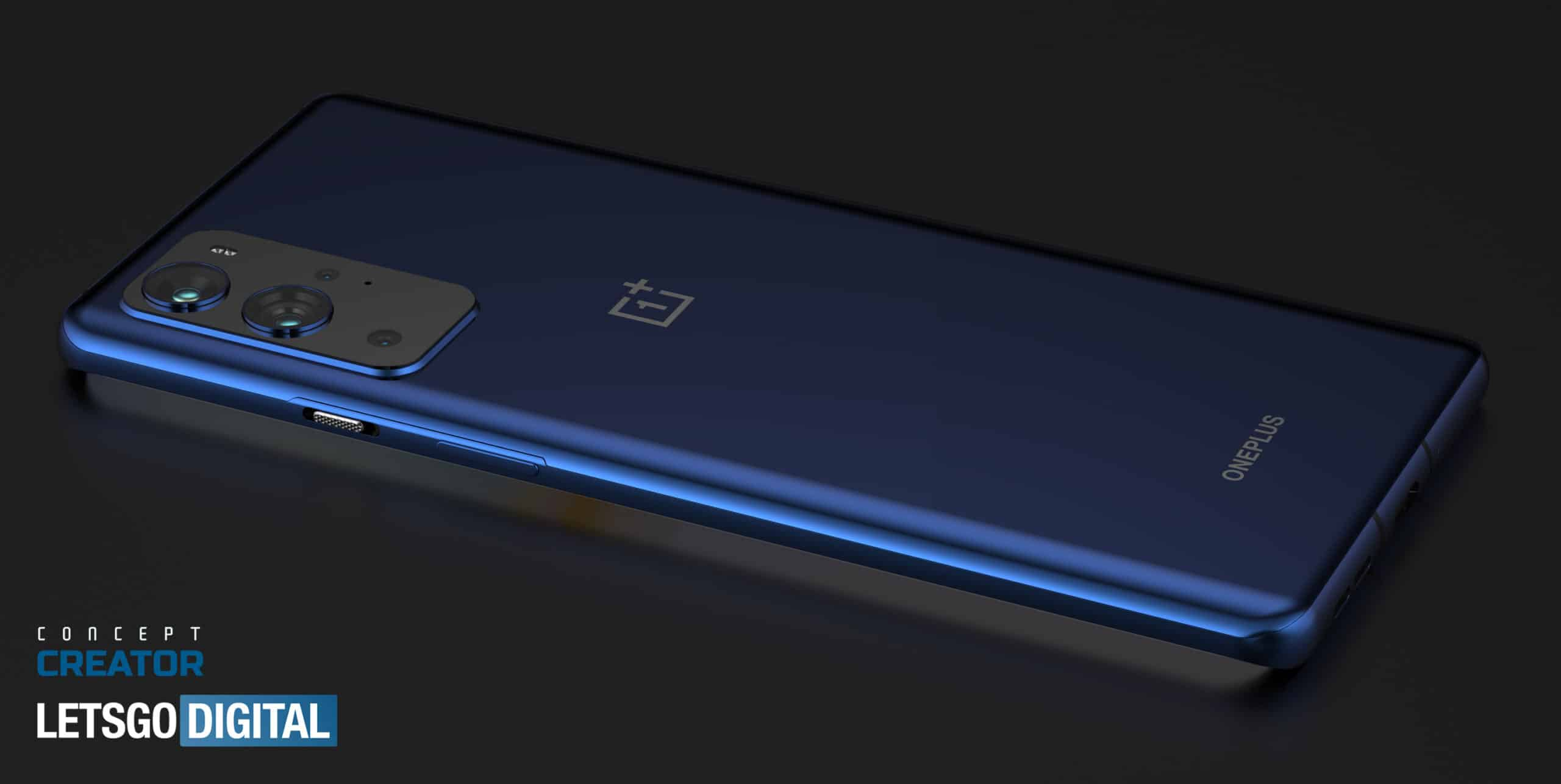 OnePlus 9 Pro concept based on leaked renders 5
