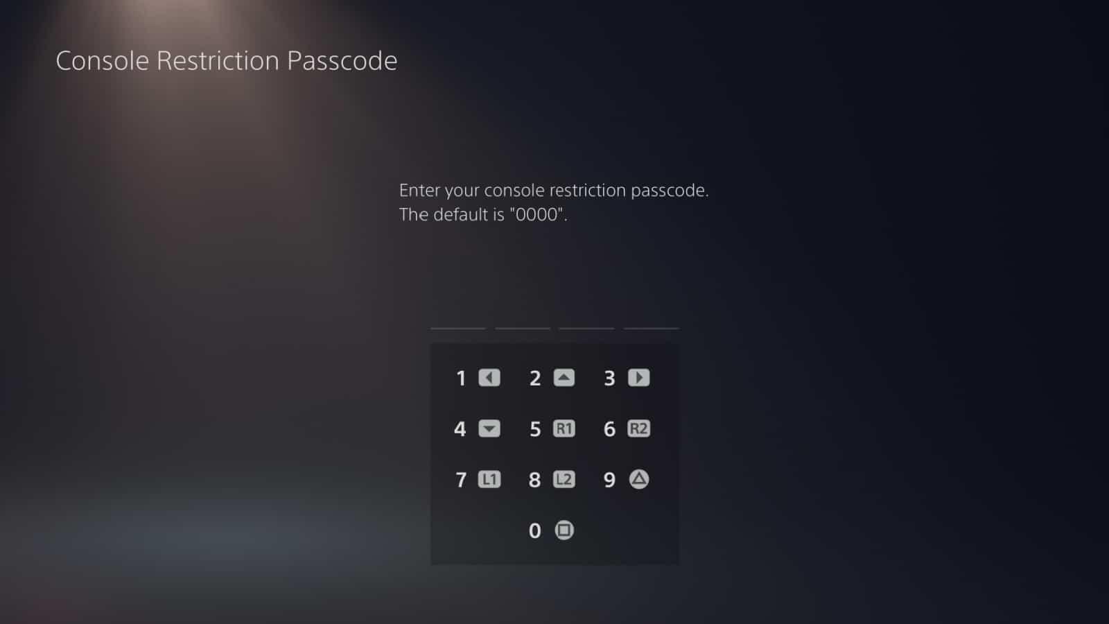 PS5 Parental Controls 3