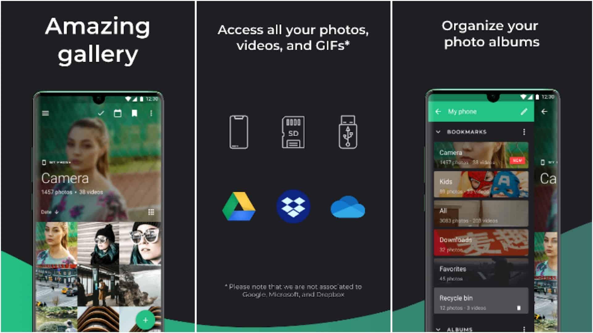 Piktures app grid image