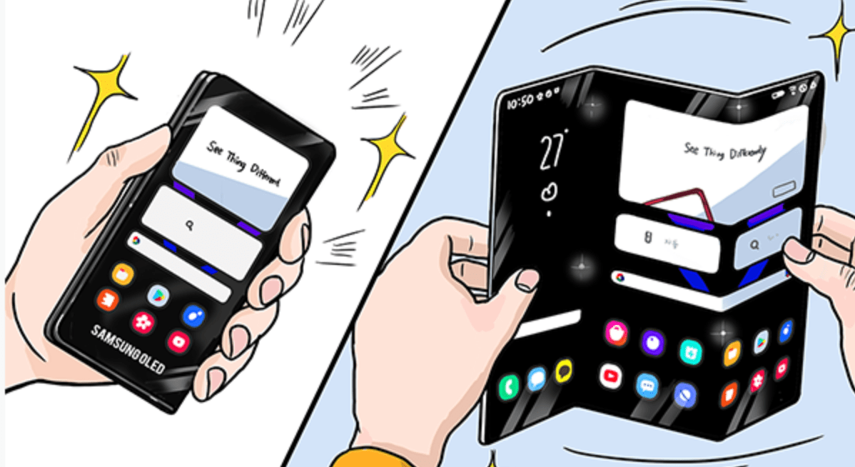 Samsung Z shaped foldable sketch 1