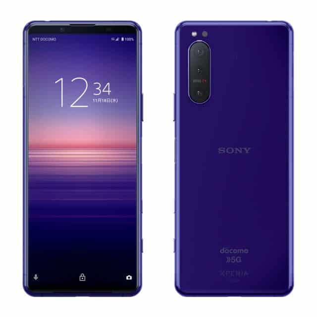 Sony Xperia 5 II purple 2