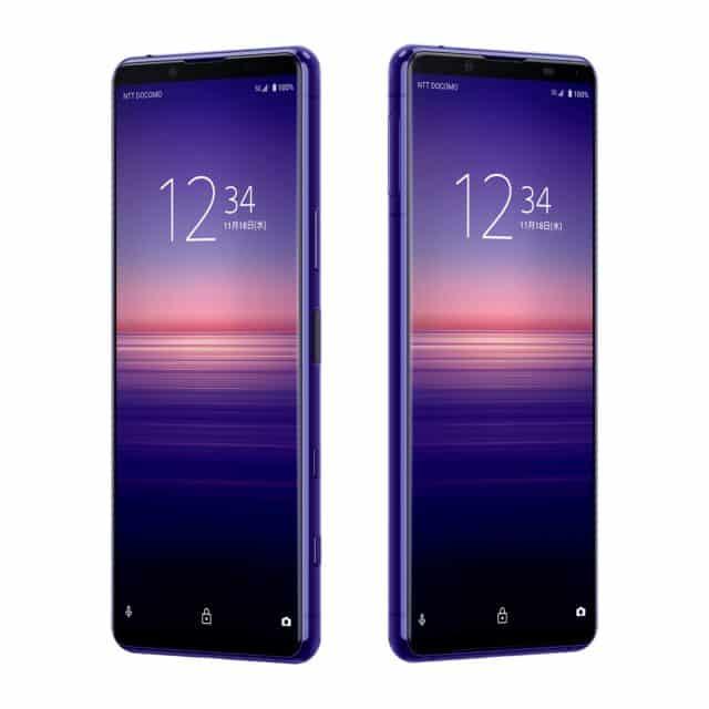 Sony Xperia 5 II purple 3