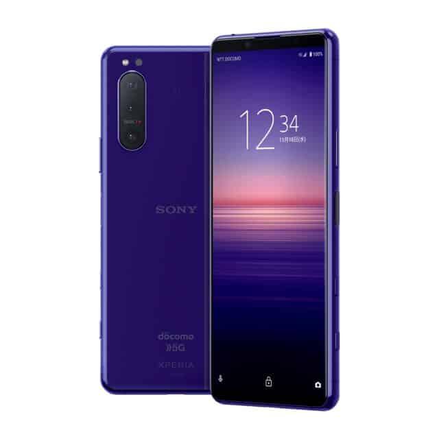 Sony Xperia 5 II purple 7