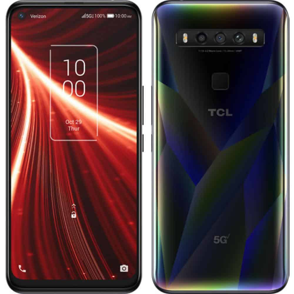 TCL 10 5G UW best 5G android smartphones actual