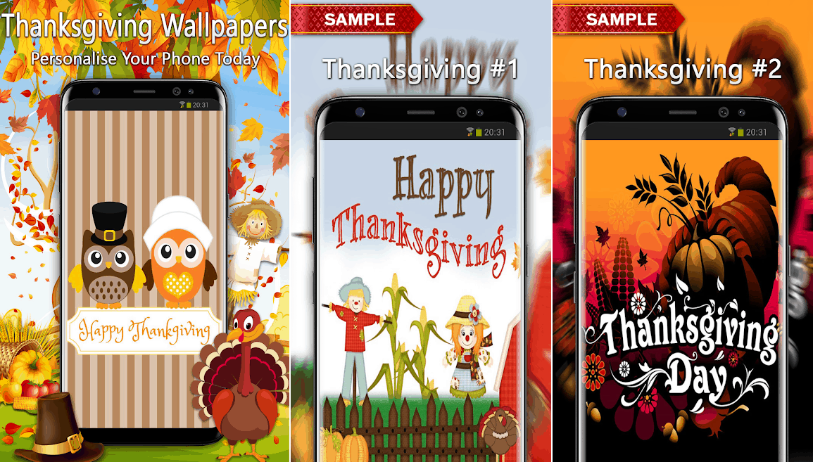Thanksgiving wallpaper best Android apps