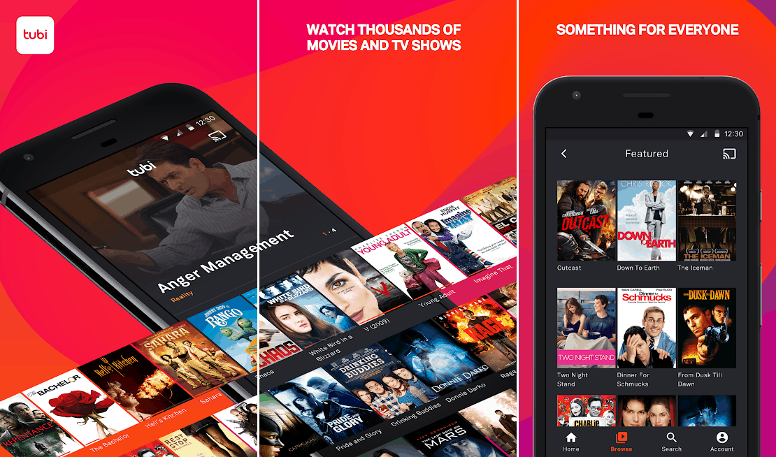 Tubi best streaming apps android