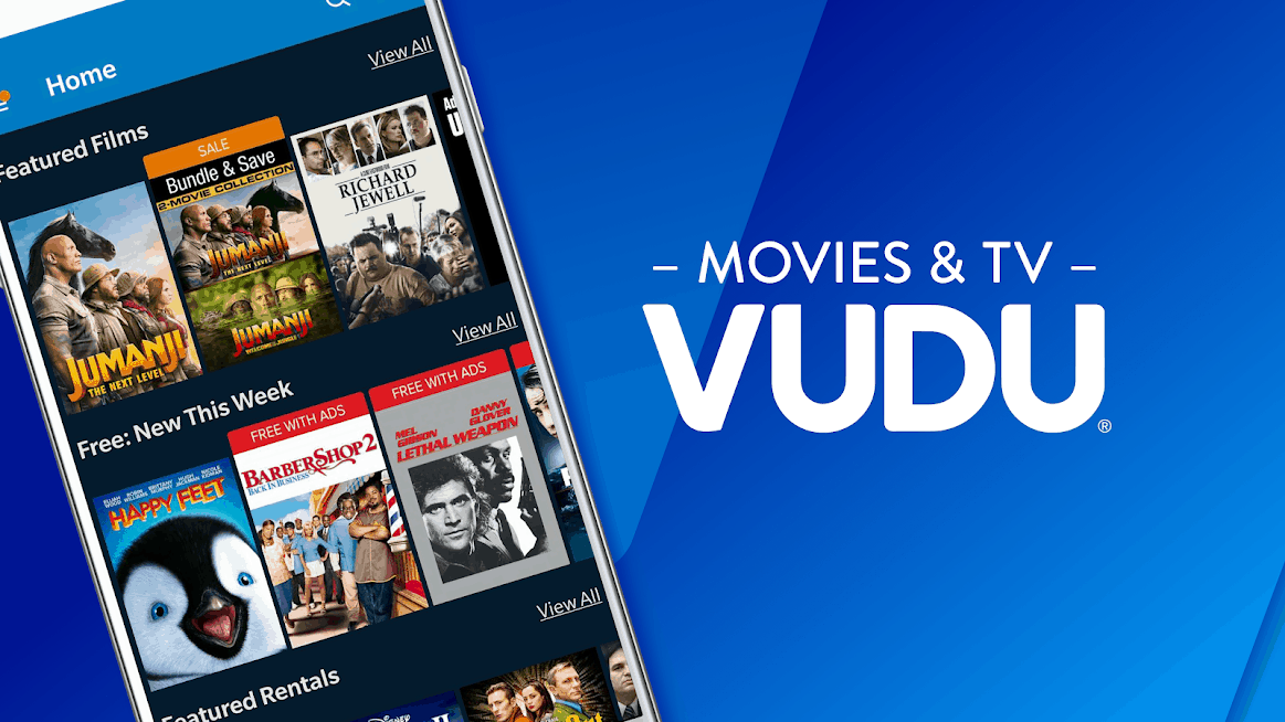 Vudu best streaming apps android