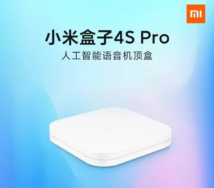 Xiaomi Mi Box 4S Pro 1