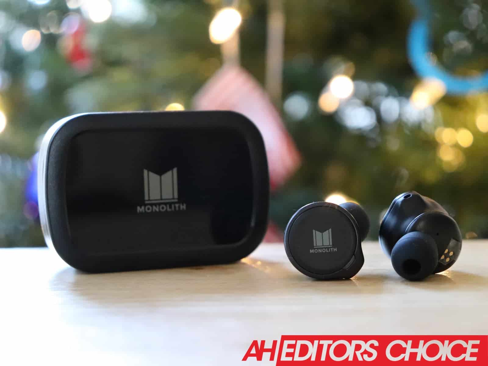 01 Monoprice M TWE TrueWireless Earphones review title DG AH 2020 best headphones
