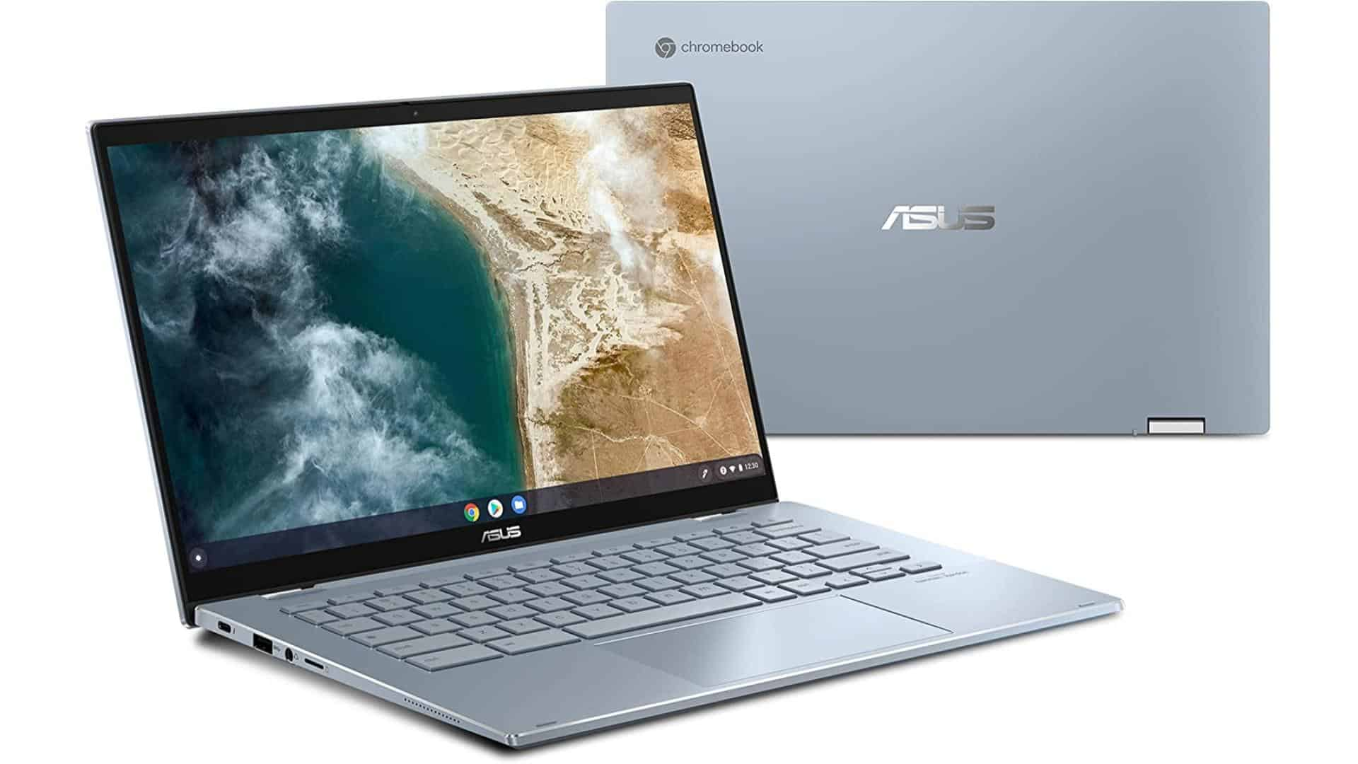 ASUS Chromebook Flip CX5 presser for laptops holiday gift guide 2021