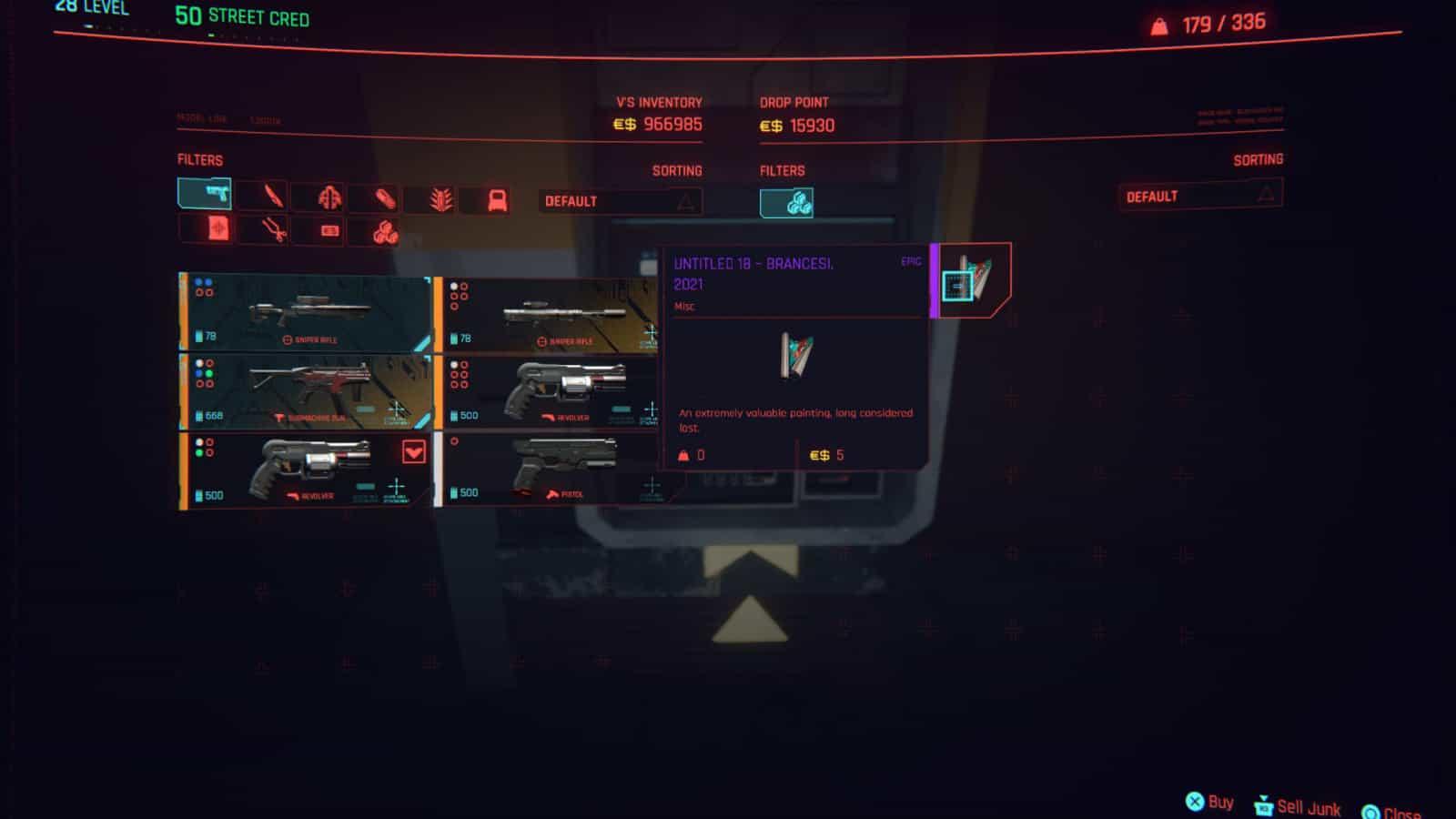 Cyberpunk 2077 Eddies 10