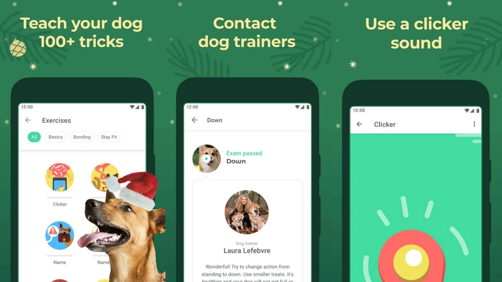 Dogo app grid