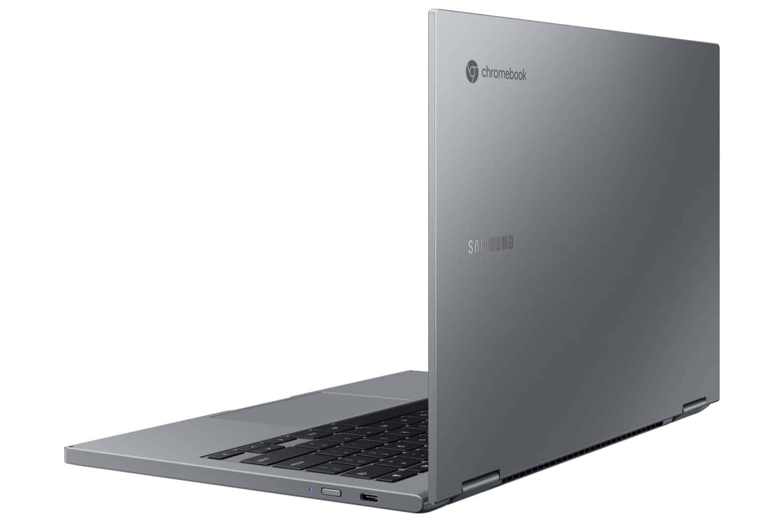 Galaxy Chromebook 2 Back Gray