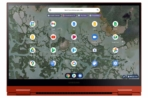 Galaxy Chromebook 2_Front2_Red