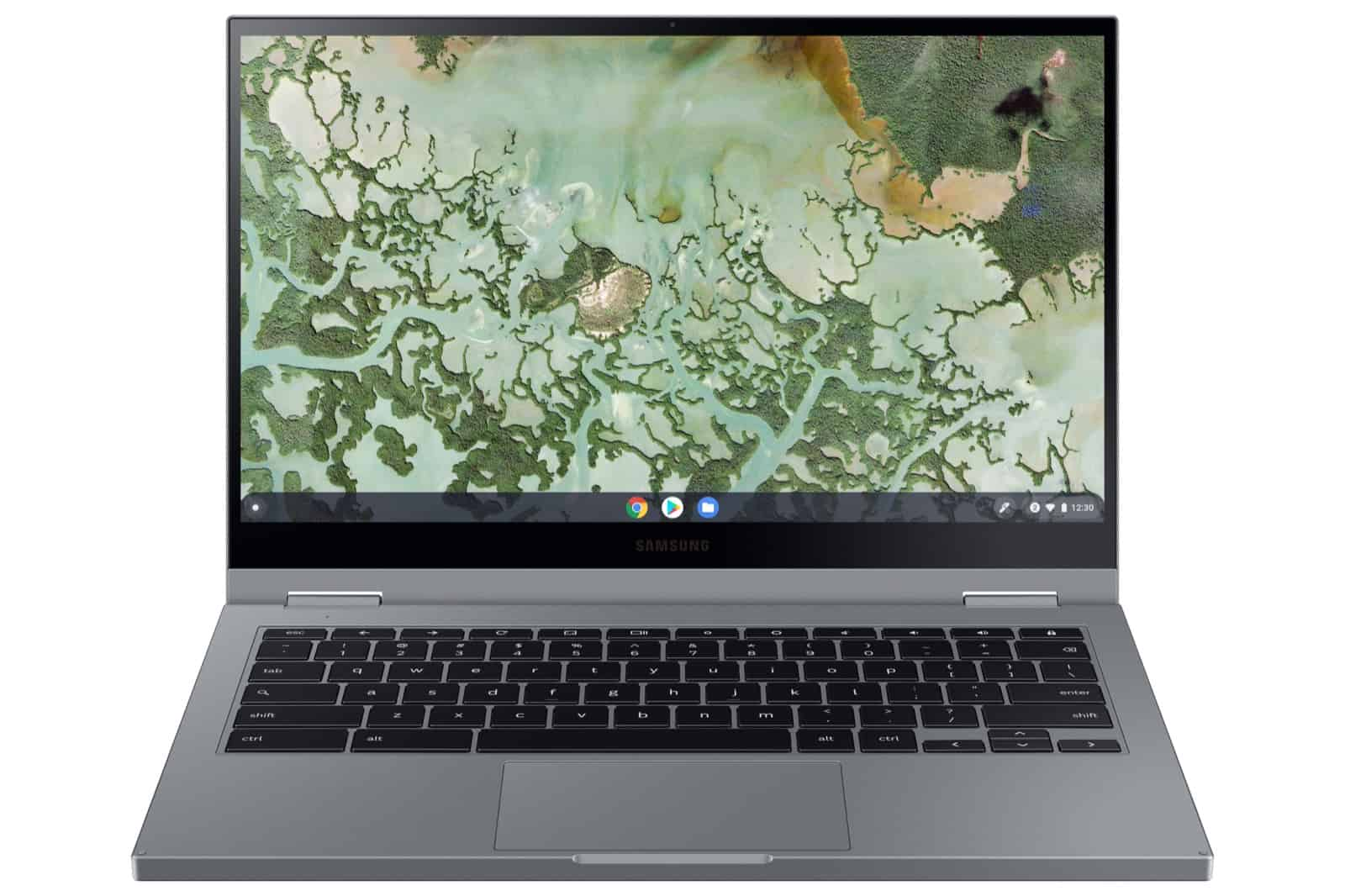 Galaxy Chromebook 2 Front Gray