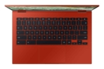 Galaxy Chromebook 2_Top Open_Red
