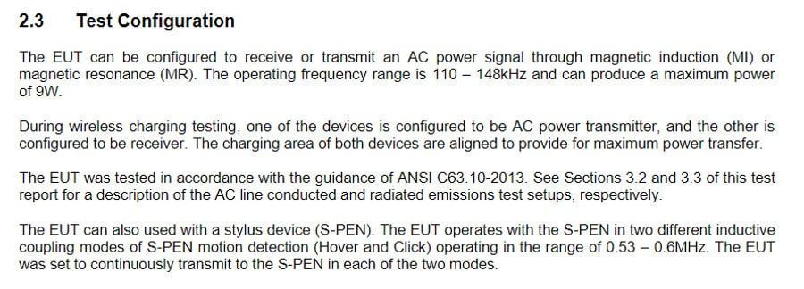 Galaxy S21 Ultra S Pen FCC listing