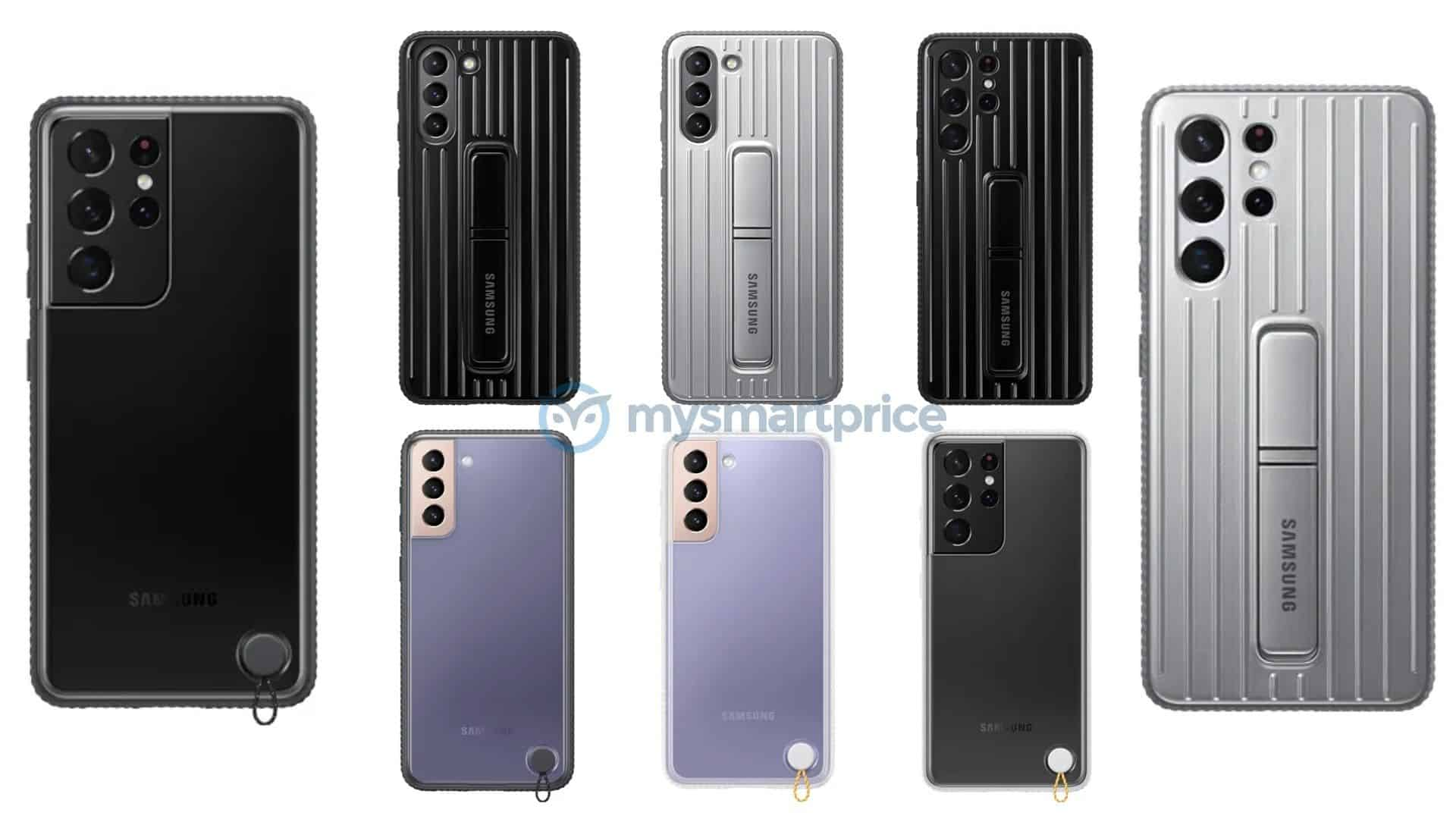 Galaxy S21 official cases leak 2