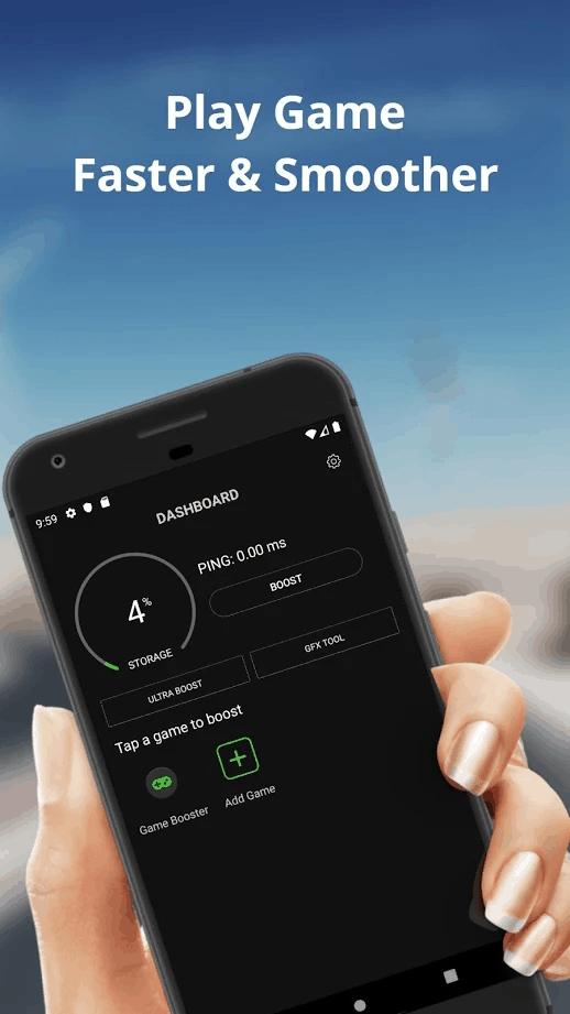Game Booster 4x Faster Free screenshot