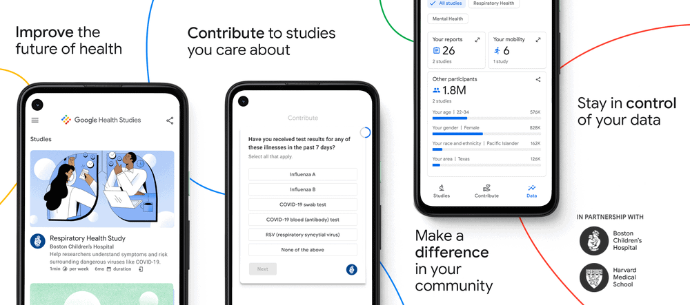 Google Health Studies app 2