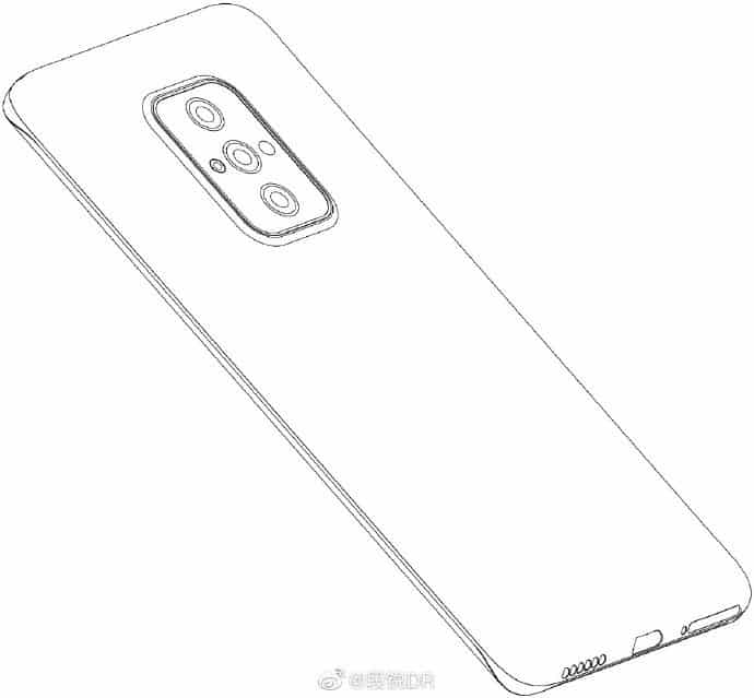 Motorola quad curved screen phone renders