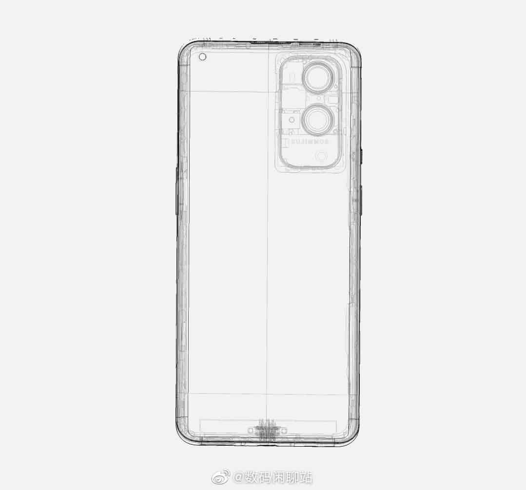 OnePlus 9 Pro schematics leak 1